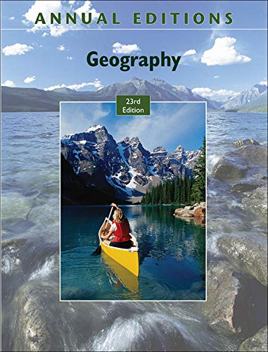 9780073515519: Annual Editions: Geography, 23/e