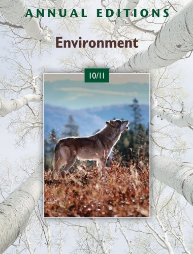 9780073515564: Annual Editions: Environment 10/11