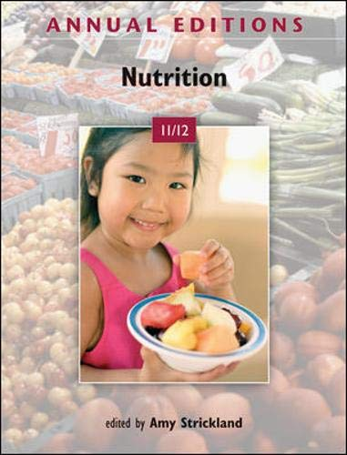 9780073515571: Annual Editions: Nutrition 11/12
