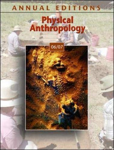 9780073515915: Annual Editions: Physical Anthropology 06/07