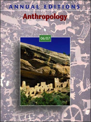 9780073515922: Annual Editions: Anthropology 06/07