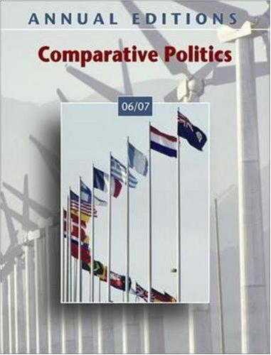 9780073516028: Annual Editions: Comparative Politics 06/07