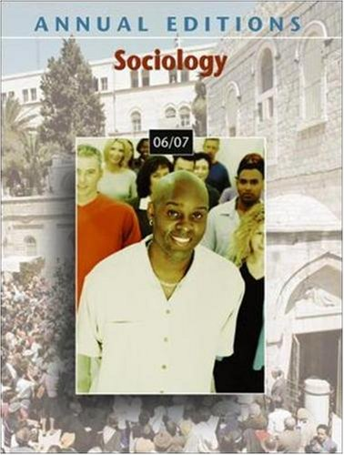 9780073516080: Annual Editions: Sociology 06/07