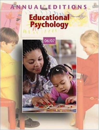 9780073516110: Annual Editions: Educational Psychology 06/07