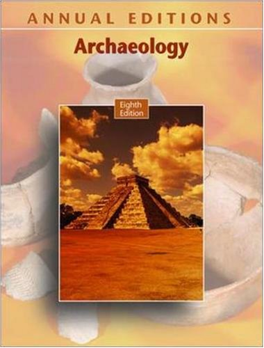 9780073516134: Annual Editions: Archaeology, 8/e