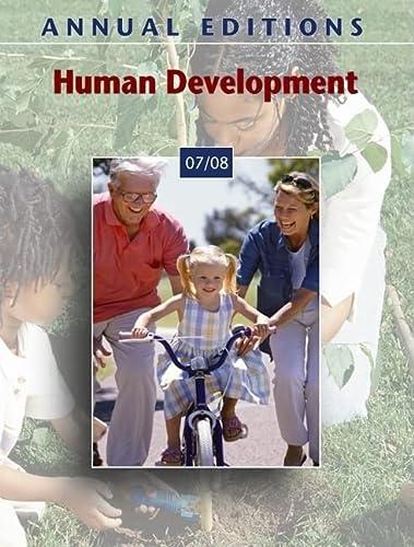 9780073516158: Annual Editions: Human Development 07/08