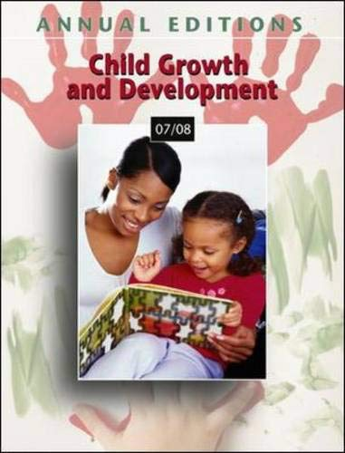 9780073516165: Annual Editions: Child Growth and Development 07/08 (Annual Editions: Child Growth & Development)