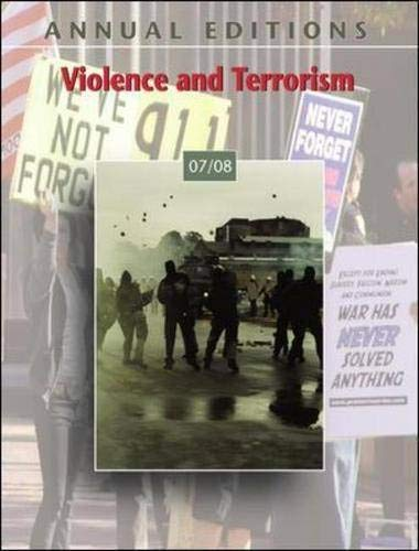 9780073516196: Annual Editions: Violence and Terrorism 07/08