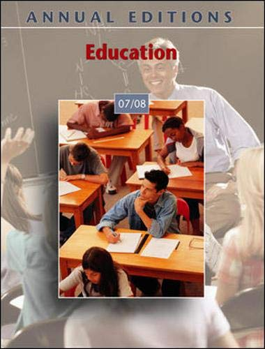 9780073516257: Annual Editions: Education 07/08