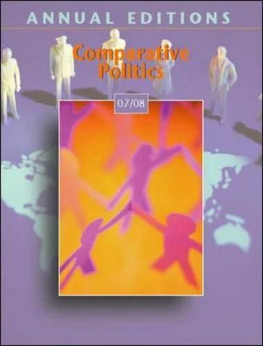 9780073516288: Annual Editions: Comparative Politics 07/08