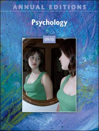 9780073516394: Annual Editions: Psychology 09/10
