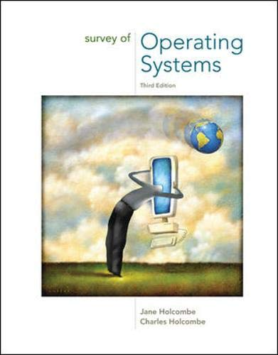 9780073518176: Survey of Operating Systems