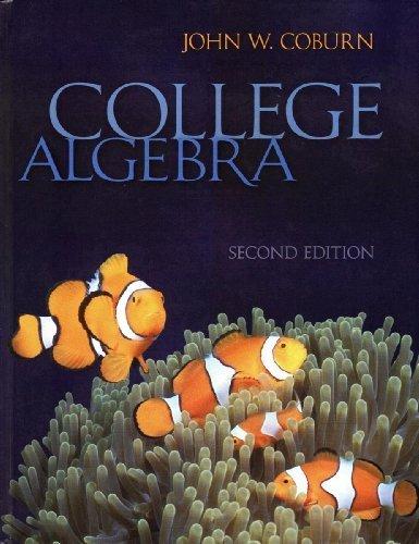 9780073519418: College Algebra