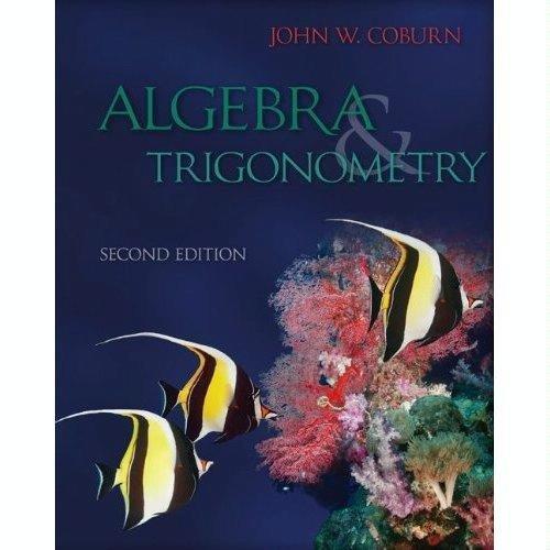 9780073519524: Algebra and Trigonometry
