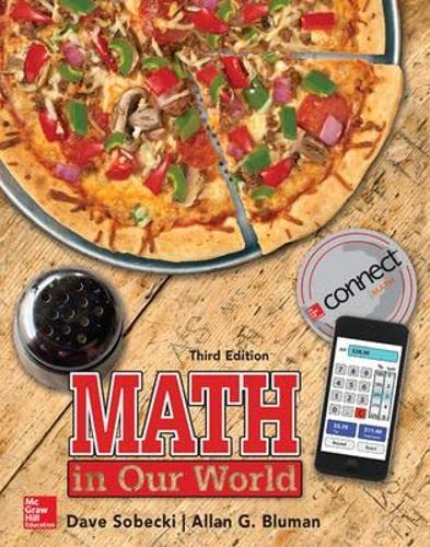 9780073519678: Math in Our World (Statistics)