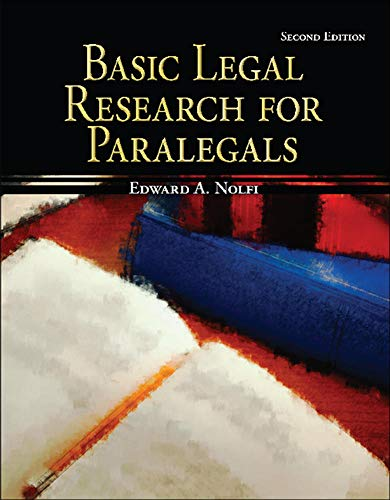 9780073520513: Basic Legal Research for Paralegals (McGraw-Hill Paralegal Titles)