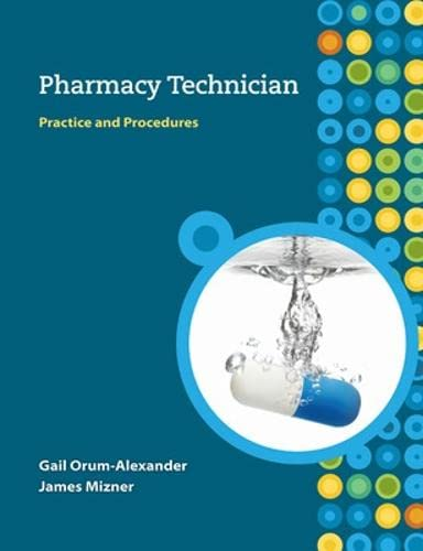 9780073520728: Pharmacy Technician