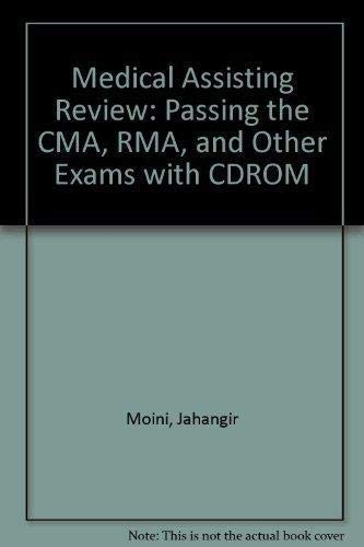 9780073520872: Medical Assisting Review: Passing the CMA, RMA, and Other Exams with CDROM