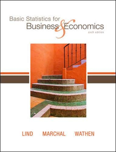 9780073521428: Basic Statistics for Business and Economics