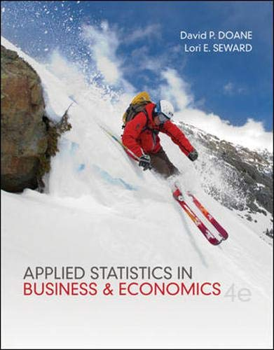 9780073521480: Applied Statistics in Business and Economics