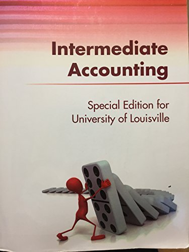 9780073521565: Intermediate Accounting - Special Edition for University of Louisville