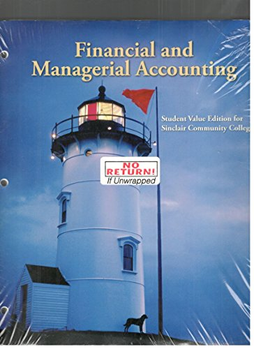 9780073521589: Financial and Managerial Accounting University of Louisville