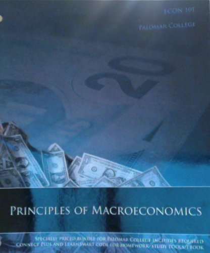 9780073521770: Macroeconomics: Principles, Problems & Policies (Econ 101 Palomar College) Principles of Macroeconomics