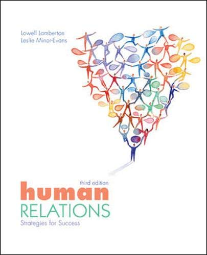 9780073522319: Human Relations: Strategies for Success
