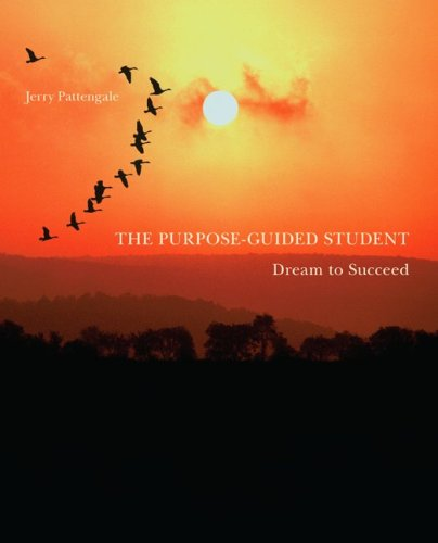 9780073522418: The Purpose-Guided Student: Dream To Succeed