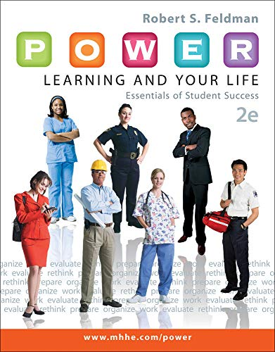 9780073522449: P.O.W.E.R. Learning and Your Life: Essentials of Student Success