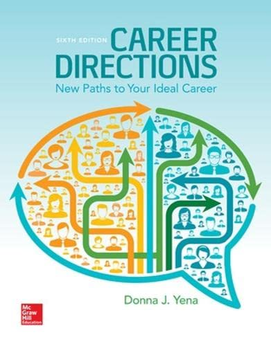 9780073522500: Career Directions: New Paths to Your Ideal Career