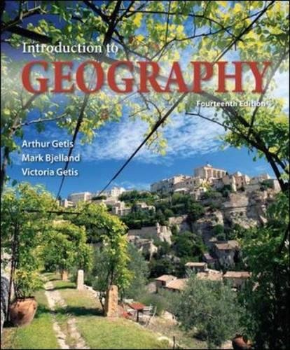 9780073522883: Introduction to Geography