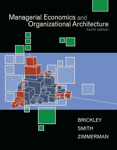 9780073523019: Managerial Economics & Organizational Architecture
