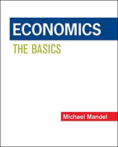 9780073523118: Economics: The Basics (Mcgraw-hill/Irwin Series in Economics)
