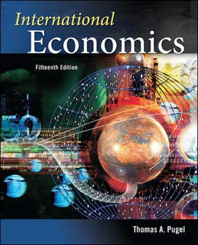9780073523170: International Economics