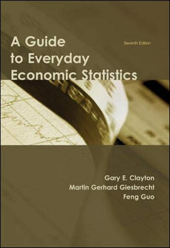 9780073523194: A Guide to Everyday Economic Statistics