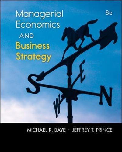 9780073523224: Managerial Economics & Business Strategy (Mcgraw-Hill Economics)