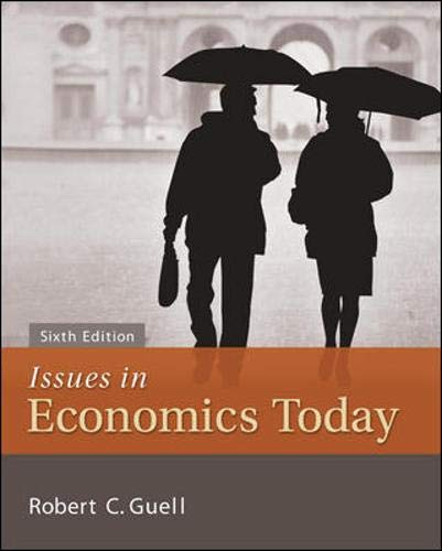 9780073523231: Issues in Economics Today (McGraw-Hill Series Economics)
