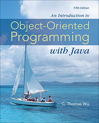 9780073523309: An Introduction to Object-Oriented Programming with Java