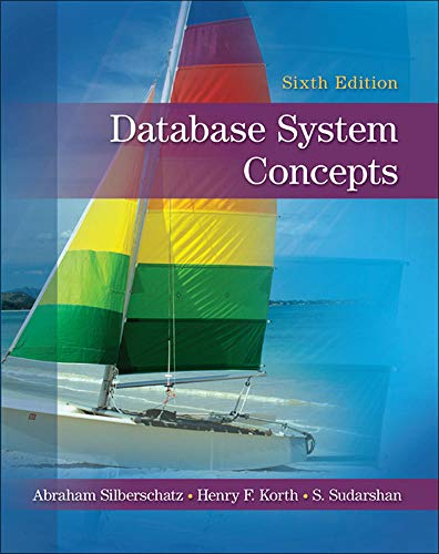 9780073523323: Database System Concepts (Irwin Computer Science)