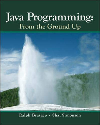9780073523354: Java Programming: From The Ground Up