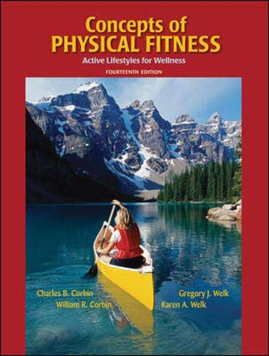 9780073523576: Concepts of Physical Fitness: Active Lifestyles for Wellness