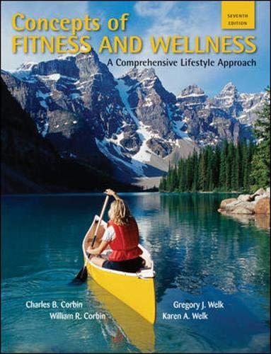 9780073523590: Concepts of Fitness And Wellness: A Comprehensive Lifestyle Approach