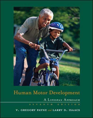 9780073523620: Human Motor Development: A Lifespan Approach