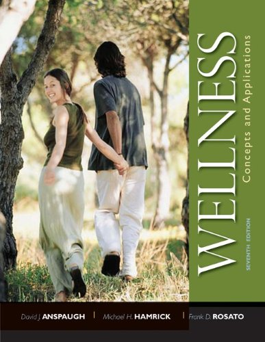 9780073523668: Wellness: Concepts and Applications