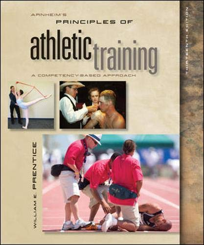 9780073523675: Arnheim's Principles of Athletic Training: A Competency-Based Approach