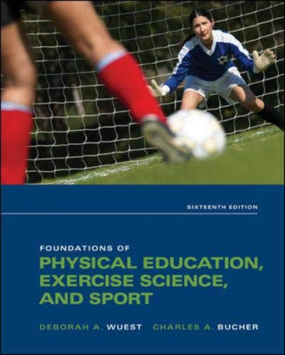 9780073523743: Foundations of Physical Education, Exercise Science, and Sport