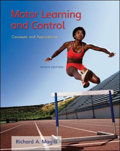 9780073523804: Motor Learning and Control: Concepts and Applications