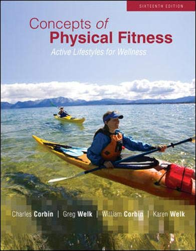 9780073523828: Concepts of Physical Fitness: Active Lifestyles for Wellness