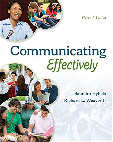 9780073523873: COMMUNICATING EFFECTIVELY